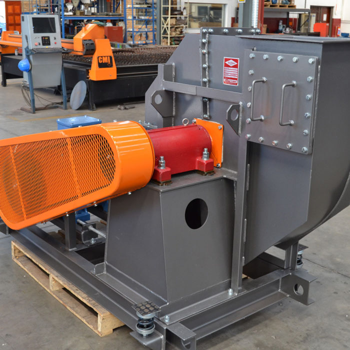 Scrap Conveying | Rand Blower Applications