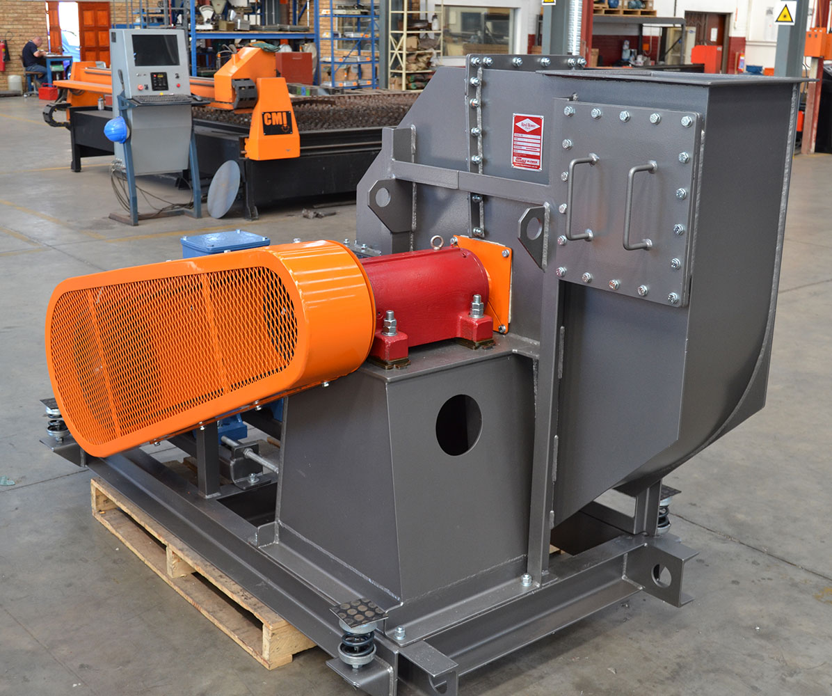 Used Sawdust Blower : Scrap conveying rand blower fan and applications