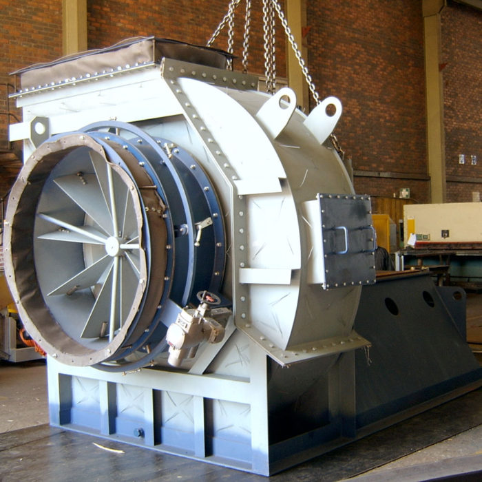Blowers & Fans for the Cement Industry | Rand Blower
