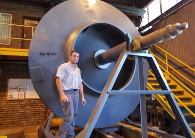 Rand-Blower-Large-Impeller-Repair-+-Transport-Stand